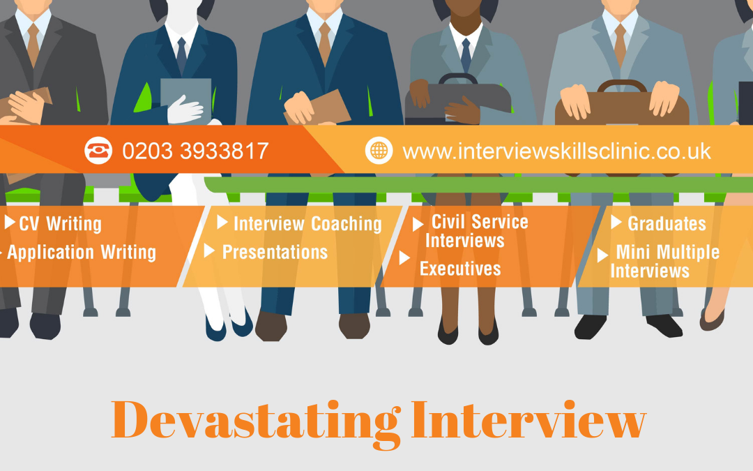 How to recover from a devastating interview